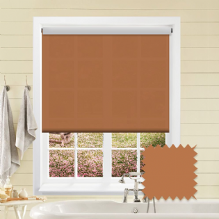 Orange Roller Blind - Astral Tango